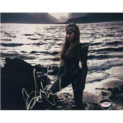"Amber Heard Signed ""Aquaman"" 11x14 Photo (PSA COA)"