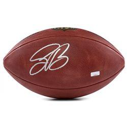 "Saquon Barkley Signed ""The Duke"" Official NFL Game Ball (Panini COA)"