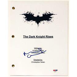 "Michael Caine Signed ""The Dark Knight Rises"" Full Movie Script (PSA COA)"
