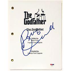 "Robert Duvall Signed ""The Godfather"" Full Movie Script (PSA COA)"