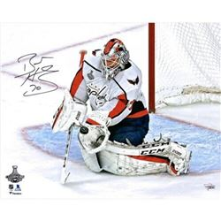 """Braden Holtby Signed Washington Capitals """"Stanley Cup"""" 16x20 Photo (Fanatics Hologram)"""