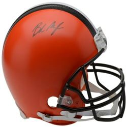 Baker Mayfield Signed Cleveland Browns Full-Size Authentic On-Field Helmet (Fanatics Hologram)
