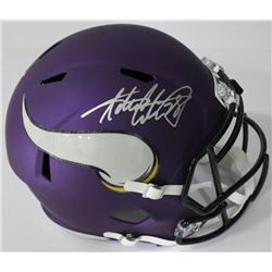 Adrian Peterson Signed Minnesota Vikings Full-Size Speed Helmet (JSA COA)