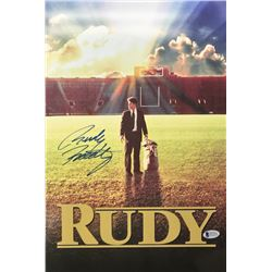 "Rudy Ruettiger Signed ""Rudy"" 11x17 Photo (Beckett COA)"