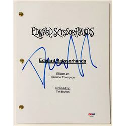 "Danny Elfman Signed ""Edward Scissorhands"" Full Movie Script (PSA COA)"