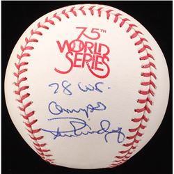 "Ron Guidry Signed 1978 World Series Baseball Inscribed ""78 WS. Champs"" (JSA COA)"