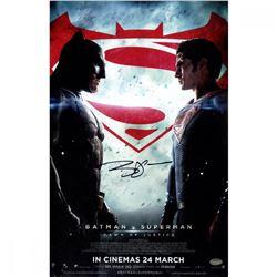 Ben Affleck Signed 'Batman vs. Superman' 11x17 Movie Poster (Schwartz Sports COA)