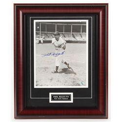 Phil Rizzuto Signed New York Yankees 14x17 Custom Framed Photo Display (Your Sports Memorabilia Stor
