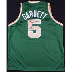 "Kevin Garnett Signed Celtics Jersey Inscribed ""08 NBA Champs"" (PSA COA)"