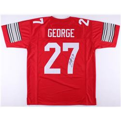 Eddie George Signed Ohio State Buckeyes Jersey (JSA Hologram)