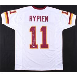 "Mark Rypien Signed Washington Redskins Jersey Inscribed ""SB XXVI MVP"" (JSA COA)"