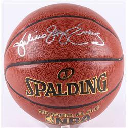 """Julius """"Dr. J"""" Erving Signed Basketball (JSA COA)"""
