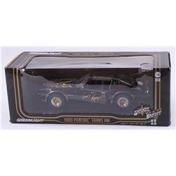 "Burt Reynolds Signed ""Smokey and the Bandit II"" 1980 Pontiac Trans AM 1:18 LE Diecast Car (JSA COA)"