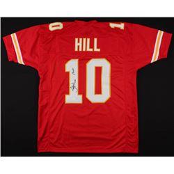 """Tyreek Hill Signed Kansas City Chiefs Jersey Inscribed """"Cheetah"""" (JSA COA)"""