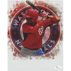 Juan Soto Signed Washington Nationals 8x10 Photo (JSA COA)