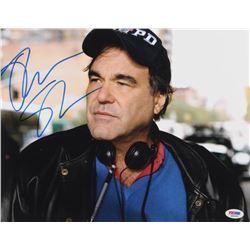 Oliver Stone Signed 11x14 Photo (PSA COA)