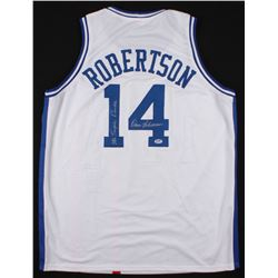"Oscar Robertson Signed Cincinnati Royals Jersey Inscribed ""Mr. Triple Double"" (PSA COA)"