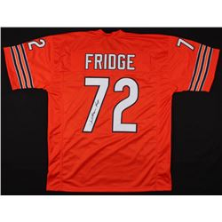 "William Perry Signed Chicago Bears ""Fridge"" Jersey (JSA COA)"