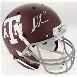 Mike Evans Signed Texas AM Aggies Custom Matte Maroon Full-Size Helmet (JSA COA)