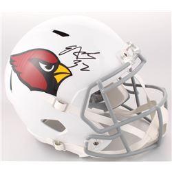 Edgerrin James Signed Arizona Cardinals Full-Size Speed Helmet (Radtke COA)