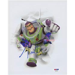 "Tim Allen Signed ""Toy Story"" 8x10 Photo (PSA COA)"