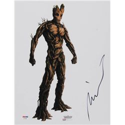 """Vin Diesel Signed """"Guardians of the Galaxy"""" 11x14 Photo (PSA COA)"""