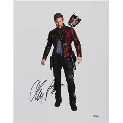 "Chris Pratt Signed ""Guardians of the Galaxy"" 11x14 Photo (PSA COA)"