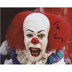 Tim Curry Signed  IT  8x10 Photo (Beckett COA)