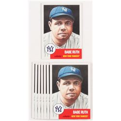 Lot of (8) 2018 Topps Living #100 Babe Ruth / 14,976*