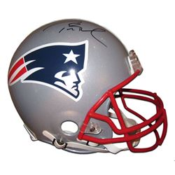 Tom Brady Signed New England Patriots Full-Size Authentic On-Field Helmet (TriStar Hologram)
