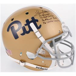 Tony Dorsett Signed Pittsburgh Panthers Full-Size Authentic On-Field Helmet with Multiple Inscriptio