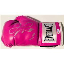 Floyd Mayweather Jr. Signed Everlast Boxing Glove (PSA COA)