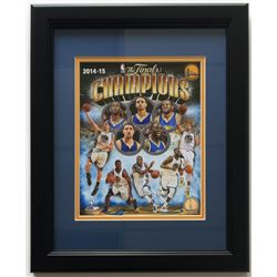 "Warriors ""The Finals Champions"" 14"" x 17"" Custom Framed Photo Display"