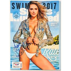 Kate Upton Signed 2017 Sports Illustrated Magazine (PSA COA)