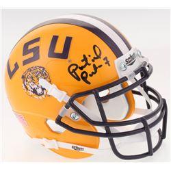 Patrick Peterson Signed LSU Tigers Mini Helmet (Radtke COA)
