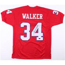 Herschel Walker Signed New Jersey Generals Jersey (Radtke COA)
