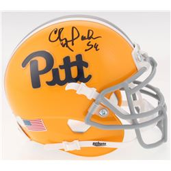 Chris Doleman Signed Pittsburgh Panthers Throwback Mini Helmet (Radtke COA)