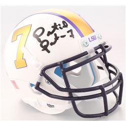 Patrick Peterson Signed LSU Tigers Mini Helmet (Radtke COA)