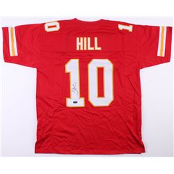 Tyreek Hill Signed Kansas City Chiefs Jersey (Radtke COA)