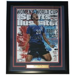 "Abby Wambach Signed Team USA 24"" x 30"" Custom Framed Photo Display (JSA COA)"