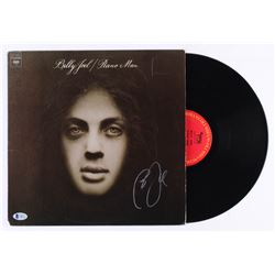 "Billy Joel Signed ""Piano Man"" Vinyl Record Album (Beckett COA)"