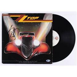 "Billy Gibbons Signed ZZ Top ""Eliminator"" Vinyl Record Album (Beckett COA)"