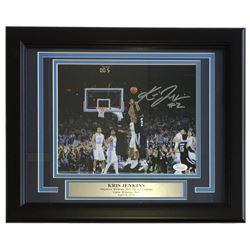 Kris Jenkins Signed Villanova Wildcats 11x14 Custom Framed Photo Display (JSA COA)