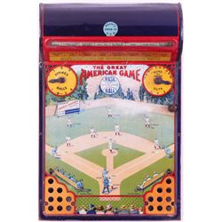 "1928 Original ""The Great American Game"" Tabletop Game"