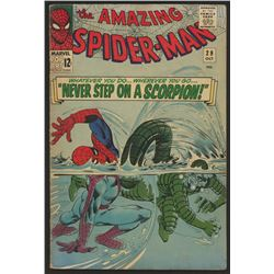 "1965 ""The Amazing Spider-Man"" Issue #29 Marvel Comic Book"
