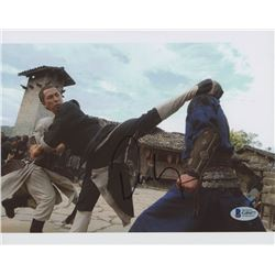 Donnie Yen Signed 8x10 Photo (Beckett COA)