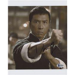 "Donnie Yen Signed ""Ip Man"" 8x10 Photo (Beckett COA)"