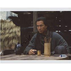 "Donnie Yen Signed ""Crouching Tiger, Hidden Dragon: Sword of Destiny"" 8x10 Photo (Beckett COA)"