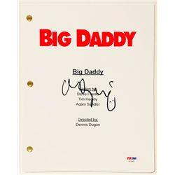 """Adam Sandler Signed """"Big Daddy"""" Full Movie Script (PSA COA)"""