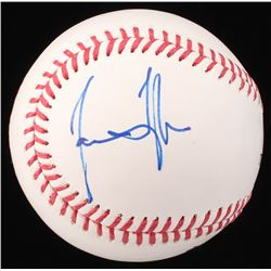 James Taylor Signed OML Baseball (Beckett COA)